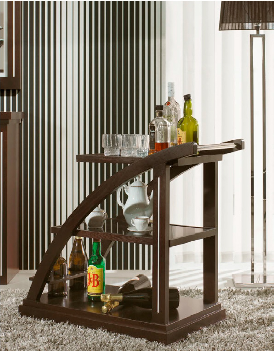Сервировочный столик SAFIRA 355 IDC
