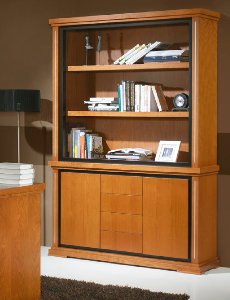 Книжный шкаф SAFIRA 381 IDC