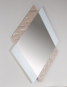 Зеркало NORA 3005.4 Blanco Mate Disemobel