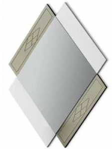 Зеркало NORA 3005.1 Blanco mate/Cuerda Disemobel