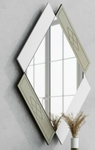 Зеркало NORA 3046.1 Blanco mate/Cuerda Disemobel