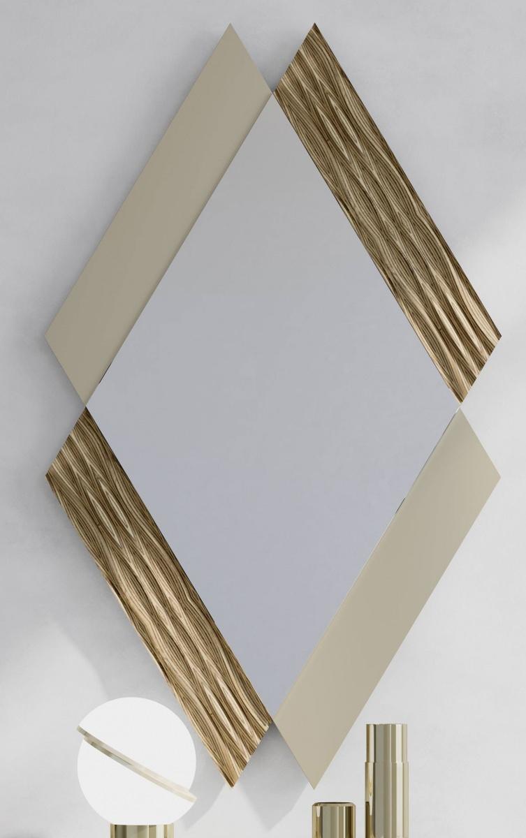 Зеркало NORA 3046.5 Capuccino/Tilo Disemobel