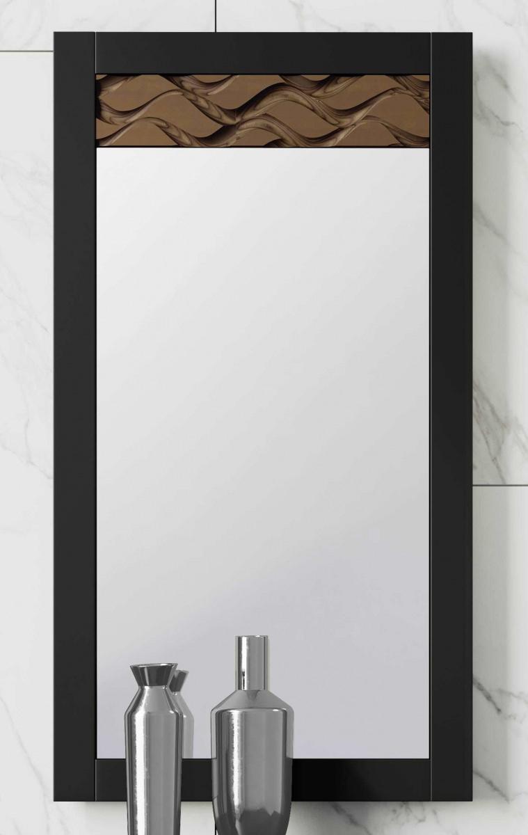 Зеркало NORA 3049.4 Negro mate/Cedro Disemobel