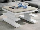 Журнальный стол NORA 2066 Blanco/Polar Disemobel