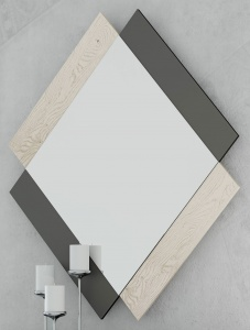 Зеркало NORA 3005.7 Grafito/Polar Disemobel