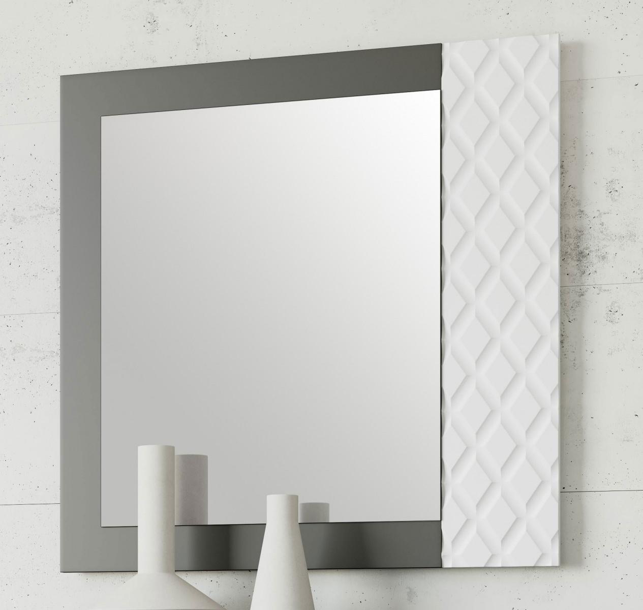 Зеркало NORA 3043.6 Grafito/Blanco Disemobel