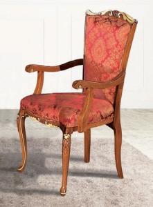 "Кресло ""Provenza"" с золотистым декором Art Deco 3016 Stile Elisa"