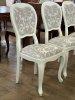 Стол 405.115 + стулья 418.050.P Blanco/Signoria 3 Panamar