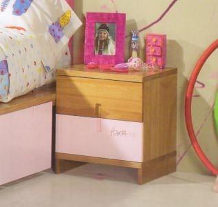 Тумба с 2-мя ящиками LF-MJ029 Roble/Verde Harpa Baby