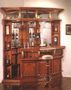 Угловая барная стойка Capri Antonio Mendes