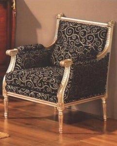 Кресло Capri CDRSILVER Antonio Mendes