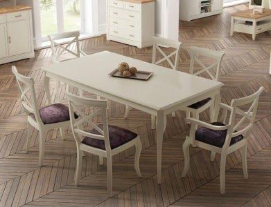 Прямоугольный Обеденный стол Panamar 483.180.P