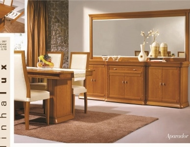 Обеденный стол Lux 287 IDC