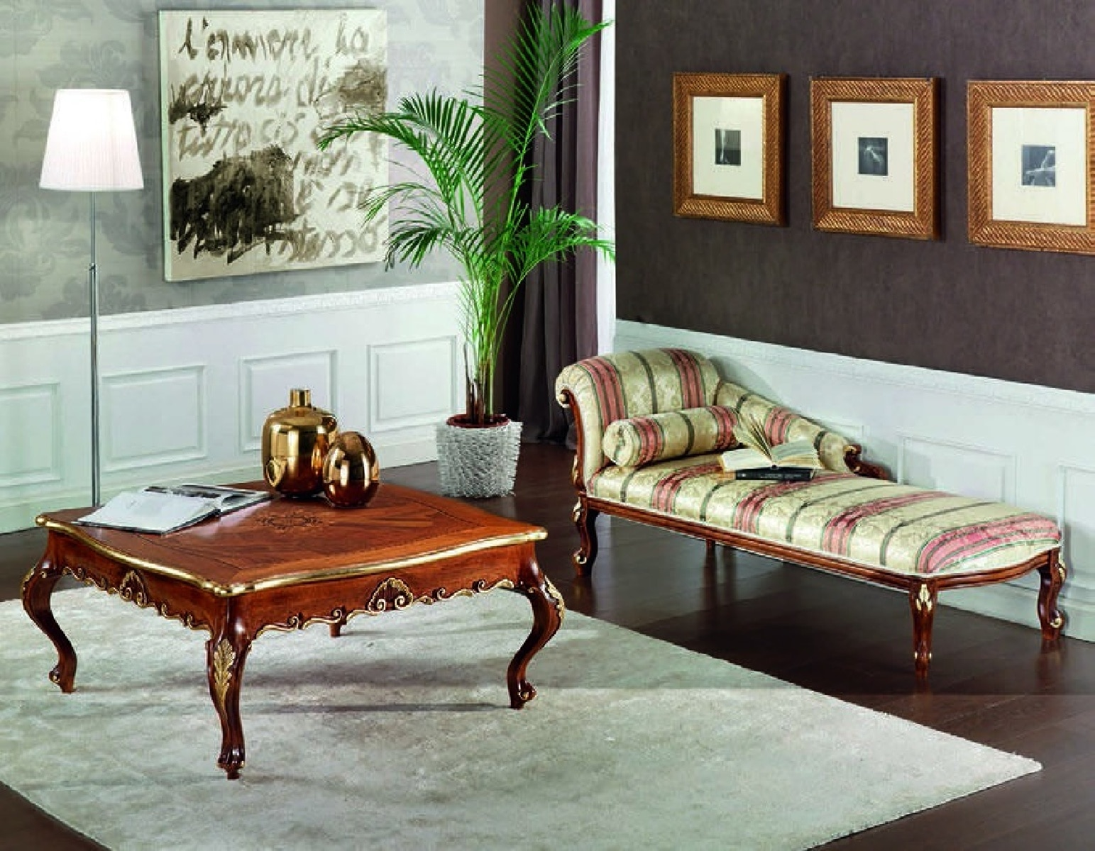 Журнальный стол Art Deco 3068 Stile Elisa