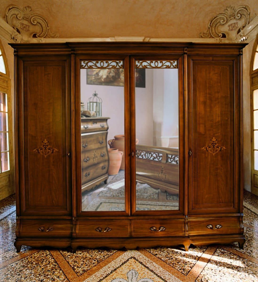Шкаф Barocco 1579 Stile Elisa