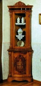 Угловой сервант Barocco 1621 Stile Elisa