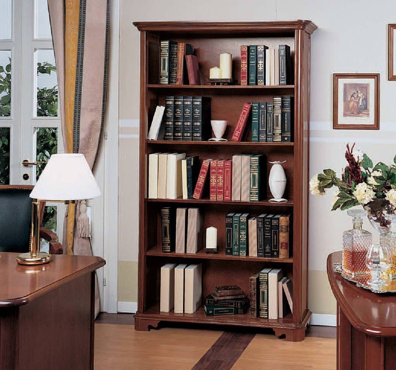 Книжный шкаф Venezia 2778 Stile Elisa
