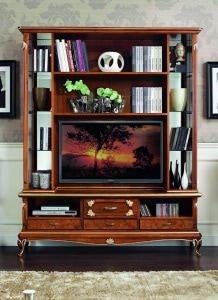 Книжный шкаф Art Deco 3078 Stile Elisa