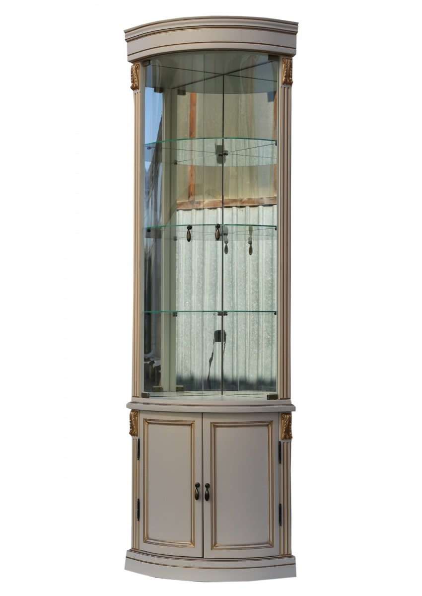 Угловая витрина ВУ01