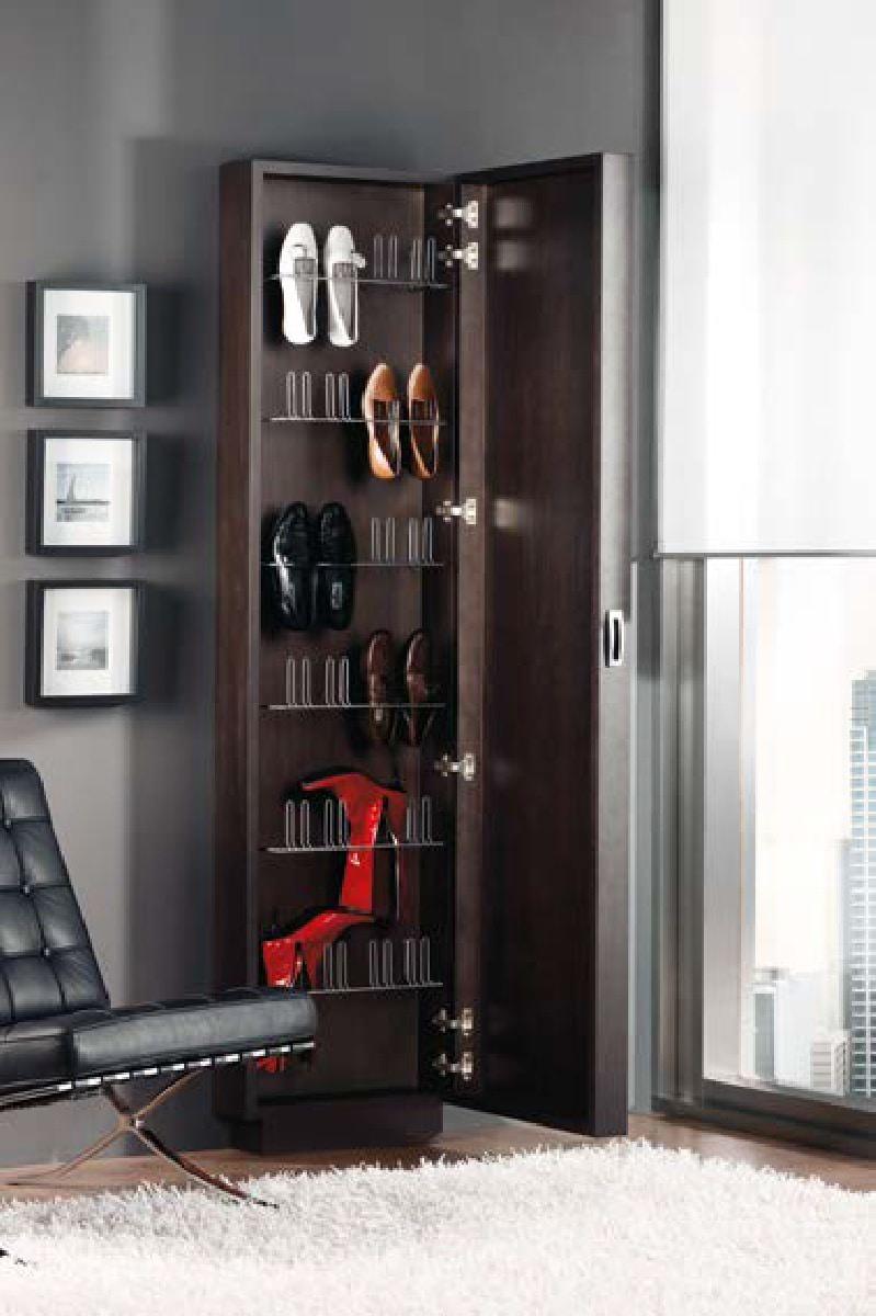 Обувница с зеркалом 214 Disemobel