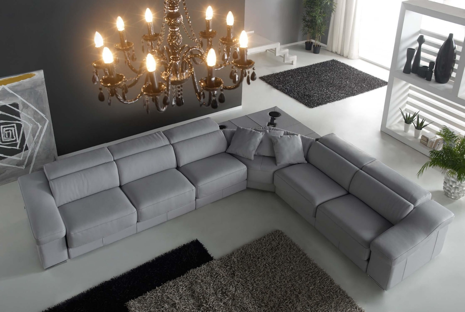 Угловой диван Kim gamamobel