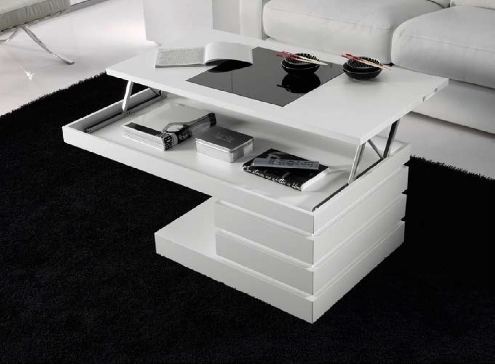 Журнальный стол трансформер 143 Disemobel