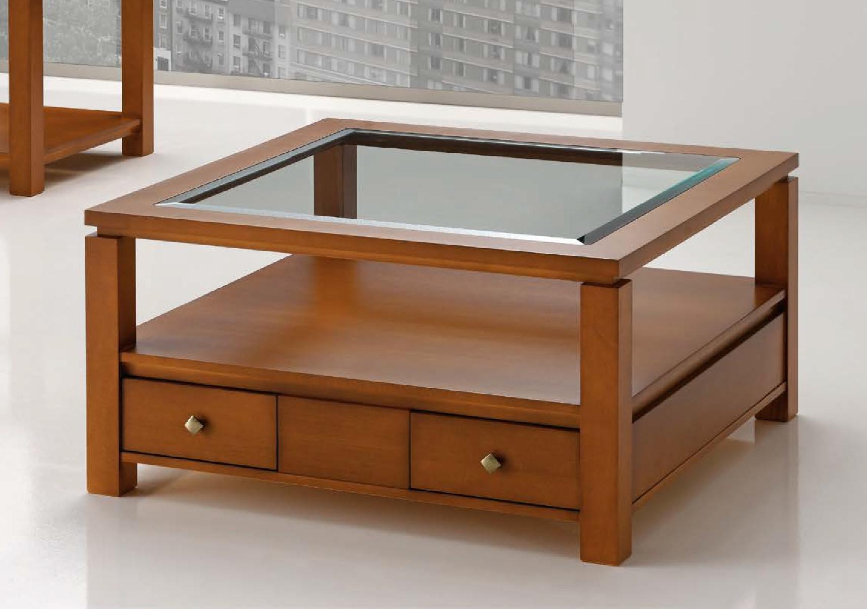 Журнальный стол квадратный 48 Disemobel