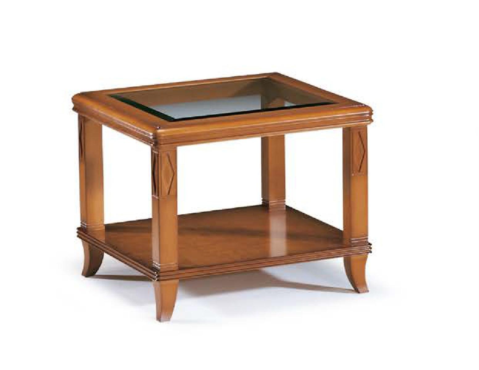Журнальный стол квадратный 74/C Disemobel