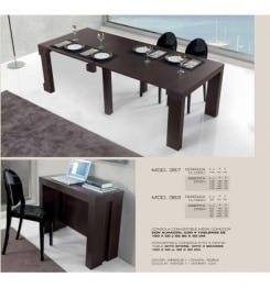 Обеденные столы трансформеры